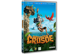Robinson Crusoe Animation / Tecknat DVD