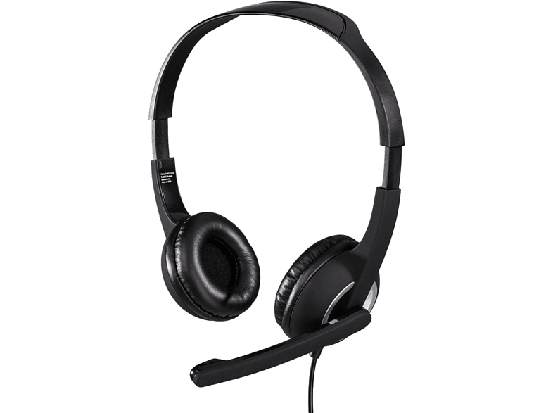 HAMA Essential HS 300 PC Headset - (53982) computing   tablets   offline ηχεία  headsets  webcams headsets laptop  tablet