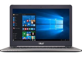 ASUS R415UB-FR027T, Notebook mit 14 Zoll Display, Core™ i7 Prozessor, 8 GB RAM, 1 TB HDD, GeForce GTX 940M, Schwarz