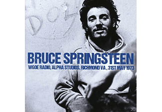Bruce Springsteen - Wgoe Radio, Alpha Studios, Richmond Va, 31st May 1 - (CD)