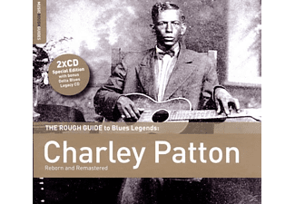 Charley Patton, VARIOUS - The Rough Guide To Blues Legends - (CD + Bonus-CD)