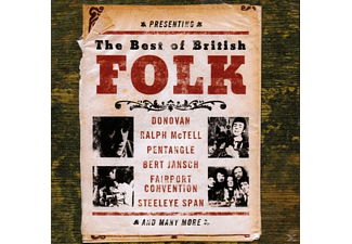 VARIOUS - The Best Of British Folk [CD]