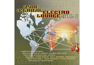 VARIOUS - Pan Global Electro Lounge Vol. - (CD)