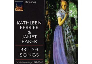 Ferrier,Kathleen/Baker,Janet - Ferrier and Baker sing British Songs - (CD)