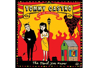 Tommy Castro, Painkillers - The Devil You Know (180gr Lp) [Vinyl]