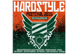VARIOUS - Hardstyle Festival 2015 - The Escalation Mix - (CD)