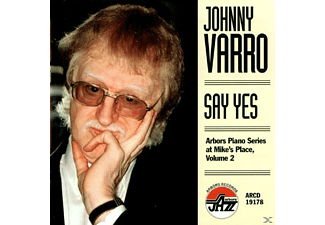 Johnny Varro - Say Yes [CD]