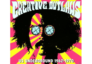 VARIOUS - Creative Outlaws-Us Underground 1962-1970 [CD]