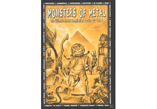 VARIOUS - Monsters Of Metal Vol.4 [DVD]