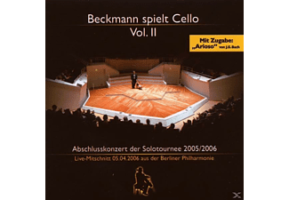 Thomas Beckmann - Beckmann Spielt Cello Vol.2 [CD]
