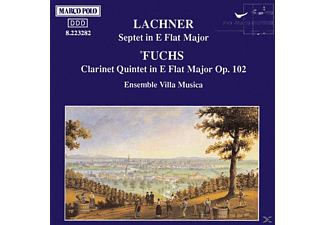 Ensemble Villa Music - Fuchs: Clarinet Quintet In E Flat Major, Lachner: Septet In E Flat Major - (CD)