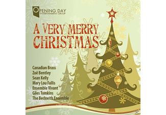 Canadian Brass/Bentley/Kelly/Ensemble VI - A Very Merry Christmas - (CD)