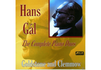 Goldstone & Clemmow - Gál,Hans-The Complete Piano Duos - (CD)