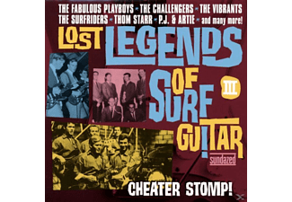 VARIOUS - Lost Legends Of Surf Guitar - (CD)