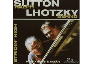 Sutton, Ralph / Lhotzky, Bernd - Stridin' High [CD]