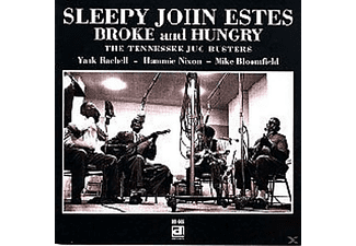 Sleepy John Estes - Broke & Hungry - (CD)