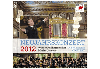 Mariss Jansons, Wiener Philharmoniker - Neujahrskonzert 2012 (Ltd.German Version) [CD]