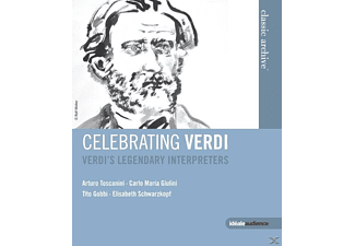 Diverse, VARIOUS - Celebrating Verdi - (Blu-ray)