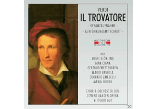 ORCH.D.COVENT GARDEN OP - Il Trovatore - (CD)