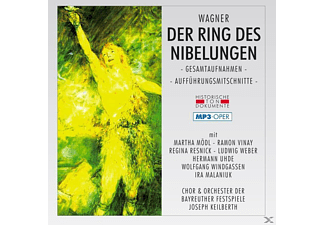 Bfo - Der Ring Des Nibelungen (Ga)-Mp 3 Oper [MP3-CD]