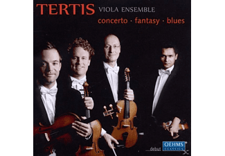 Tertis Viola Ensemble - Concerto-Fantasy-Blues - (CD)