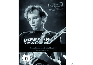 Jorma & Vital Parts Kaukonen - Rockpalast: West Coast Legends, Vol. 2 - (DVD)