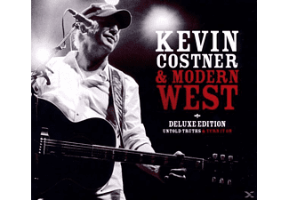 Kevin & Modern West Costner - Deluxe Edition: Untold Truths+Turn It On (2cd) [CD]