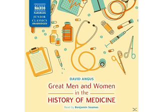 Great Men and Women in Medicine - 2 CD - Hörbuch