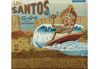 Los Santos - Surfing On The Rìo Grande-Estereofonico - (CD)