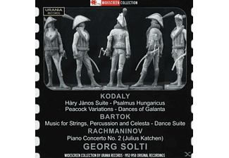 Solti/Katchen/London SO/London Philharmonic Orch. - Sir Georg Solti dirigiert - (CD)