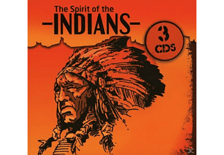 VARIOUS - The Spirit Of The Indians (3 Cd) [CD]