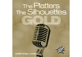 PLATTERS,THE & SILHOUETTES,THE - Gold - (CD)
