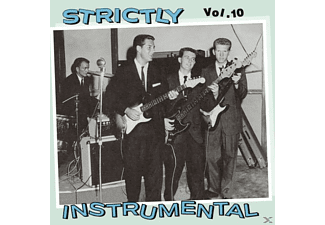 VARIOUS - Vol.10, Strictly Instrumental - (CD)