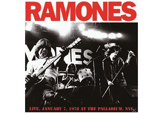 Ramones - Live At The Palladium, Nyc, 1978 - (CD)