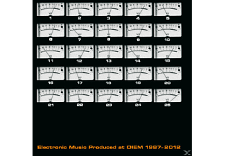VARIOUS - Electronic Music produced at DIEM 1987-2012 - (CD + DVD Video)