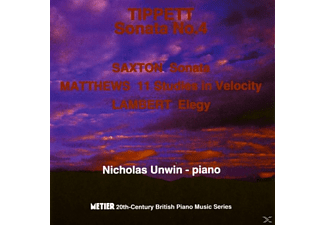 Nicholas Unwin - 20th Century British Piano Music - (CD)