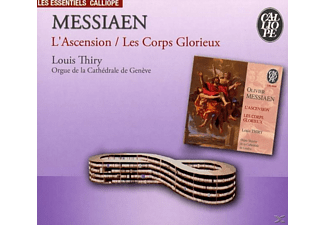 Louis Thiry - Orgelwerke: L'ascension/Les Corps Glorieux - (CD)
