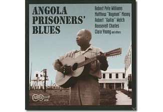 VARIOUS - ANGOLA PRISONERS BLUES [CD]