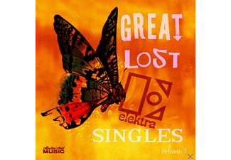 VARIOUS - Great Lost Elektra Singles Vol.1 - (CD)