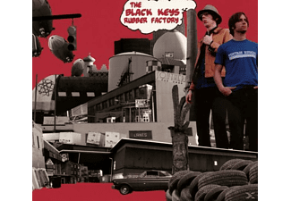 The Black Keys - Rubber Factory - (CD)