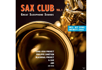 VARIOUS - Sax Club Vol.1 - (CD)