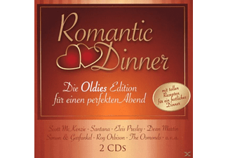 VARIOUS - Romantic Dinner-Oldies [CD]