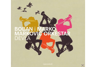 Boban I Marko Markovic Orkestar, Boban I Marko Markovic - Devla-Blown Away To Dancefloor Heaven - (CD)