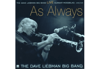 Dave Liebman Big Band - Live...As Always - (CD)