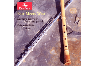 Leonard Garrison, Kay Zavislak - East Meets West - (CD)