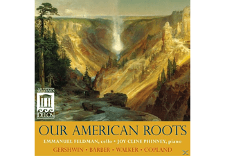 Feldman,Emmanuel/Phinney,Joy - Our American Roots - (CD)