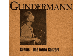 Gerhard Gundermann - Gundermann Solo Live In Krams - (CD)