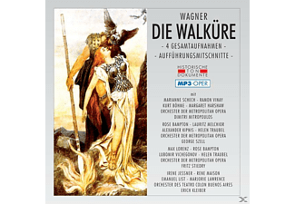 Orch.D.Metropolitan Opera, Orch.Des Teatro Colon - Die Walküre-Mp 3 [MP3-CD]