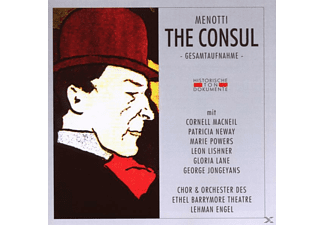 VARIOUS - The Consul [CD]