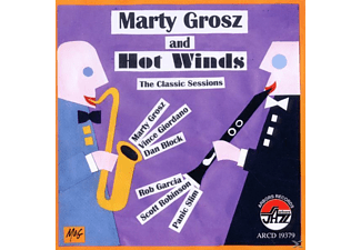 Marty Grosz - Hot Winds, The Classics Sessions [CD]